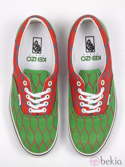 Nueva colección de zapatillas de VANS y KENZO primavera/verano 2012 en varios colores