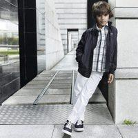 Cazadora y camisa de cuadros de la nueva colección de Boss Niños primavera/verano 2012