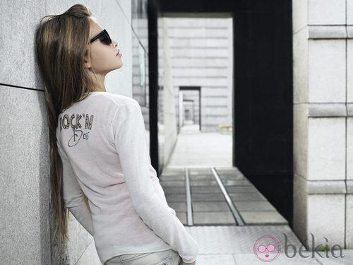 Camiseta de niña de aires rockeros de la nueva colección de Boss Niños primavera/verano 2012