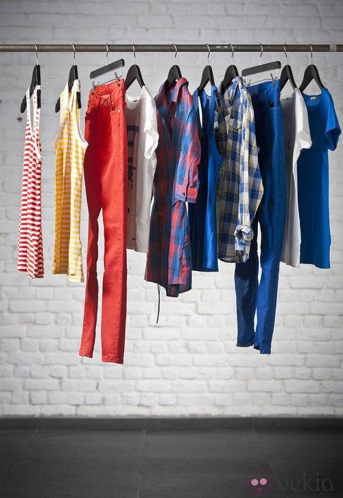 Colección mujer Lee Jeans primavera/verano 2012