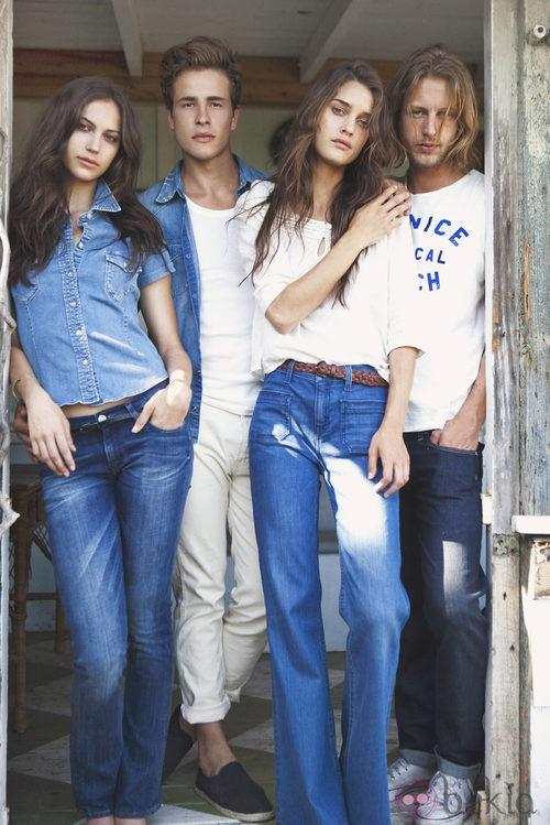 Colección hombre y mujer de Lee Jeans primavera/verano 2012
