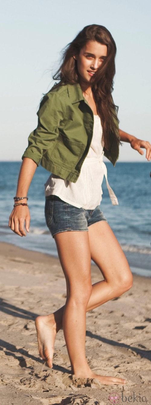 Shorts y chaqueta de la colección Lee primavera/verano 2012