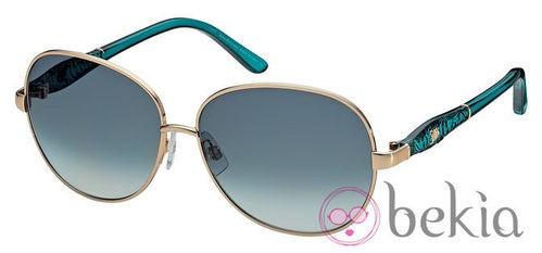 Gafas de sol con lentes azules de la nueva colección primavera/verano 2012 de John Galliano