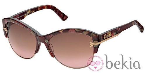 Gafas de sol con estampado animal de la nueva colección primavera/verano 2012 de John Galliano