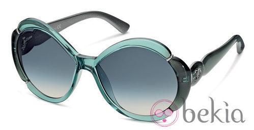 Gafas de sol azules de la nueva colección primavera/verano 2012 de John Galliano