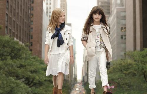 Conjuntos niña primavera/verano 2012 DKNY
