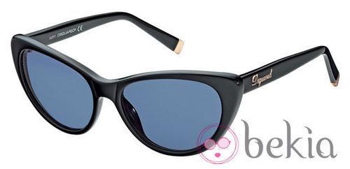 Gafas de sol de pasta negra de la nueva colección de Dsquared2 Primavera/Verano 2012