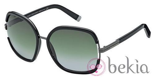 Gafas de sol negras con lentes verdes de la nueva colección de Dsquared2 Primavera/Verano 2012