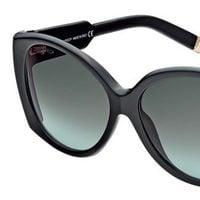 Gafas de sol de negras con detalles dorados de la nueva colección de Dsquared2 Primavera/Verano 2012