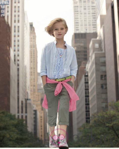 Conjunto niña de la colección infantil de DKNY primavera/verano 2012