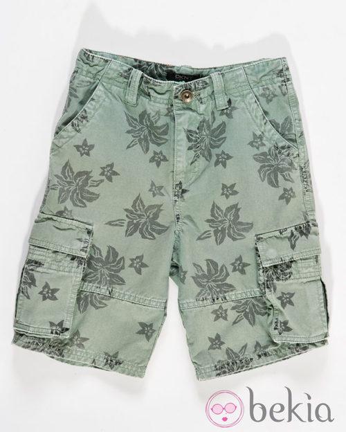Pantalon corto de niño de la colección infantil de DKNY primavera/verano 2012