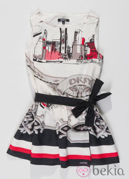 Vestido de la colección infantil de DKNY primavera/verano 2012