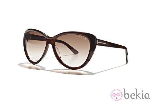 Gafas negras de la nueva colección de Tom Ford Primavera/Verano 2012