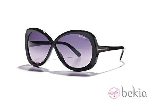 Gafas con lentes moradas de la nueva colección de Tom Ford Primavera/Verano 2012