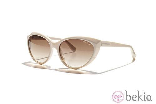 Gafas de acetato blanco de la nueva colección de Tom Ford Primavera/Verano 2012