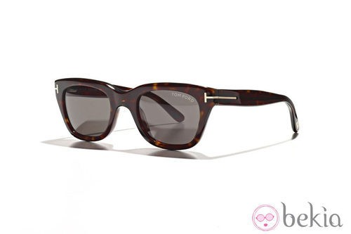 Gafas en tonos marrones de la nueva colección de Tom Ford Primavera/Verano 2012