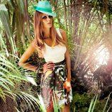 Vestido casual de la colección Laura Bernal para esta primavera/verano 2012
