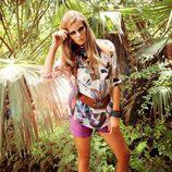 Look floreado de la colección Laura Bernal para esta primavera/verano 2012