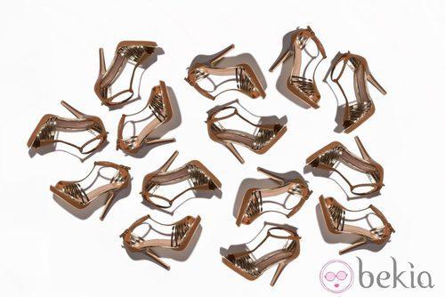 Sandalias de la nueva colección de Suite Blanco primavera/verano 2012
