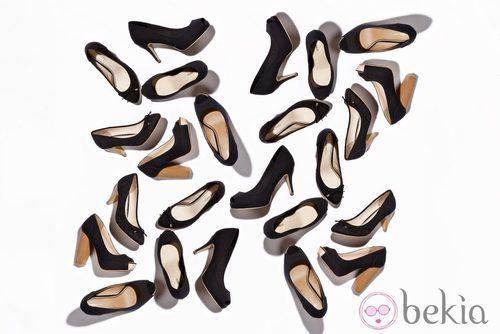 Zapatos peeptoes de la nueva colección de Suite Blanco primavera/verano 2012