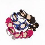 Sandalias flúor de la nueva colección de Suite Blanco primavera/verano 2012