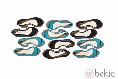 Bailarinas peeptoes de la nueva colección de Suite Blanco primavera/verano 2012