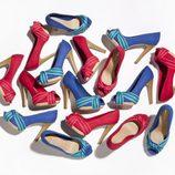 Zapatos en tonos flúor de la nueva colección de Suite Blanco primavera/verano 2012