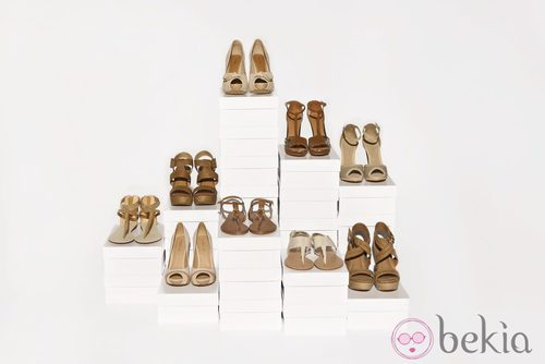 Zapatos y sandalias de la nueva colección de Suite Blanco primavera/verano 2012