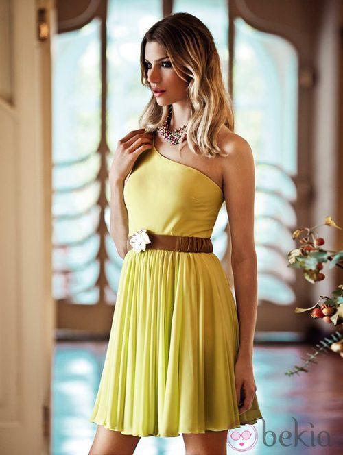 Vestido amarillo de la colección verano 2012 de BDBA