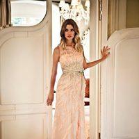Vestido largo rosa de la colección verano 2012 de BDBA