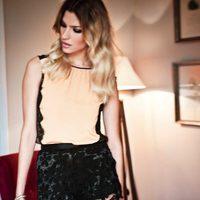 camiseta y shorts culotte de encaje de la colección verano 2012 de BDBA