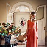 Maxivestido naranja de la colección verano 2012 de BDBA