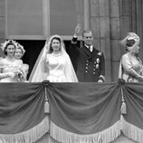 Vestido de novia de La Reina Isabel II de Inglaterra firmado por Norman Hartnell