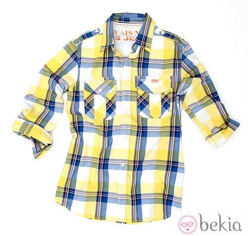 Camisa de cuadros de la colección verano 2012 de Lois