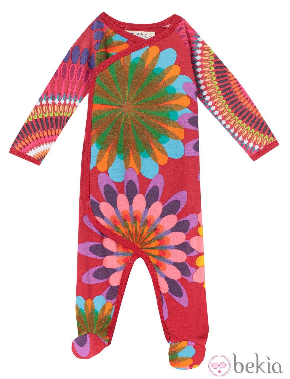 Body de colores de la línea 'Baby' de la firma Desigual