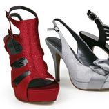 Zapatos de raso de varios colores de la nueva colección de Alex Silva verano 2012