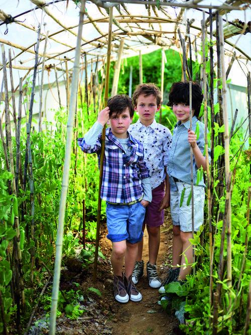Conjuntos de la colección verano 2012 de Benetton Niños