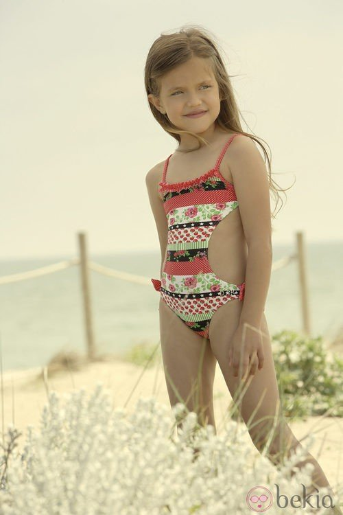 Trikini de la colección verano 2012 de Dolores Cortés DC KIDS