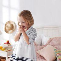 Vestido blanco de niña de la nueva colección My Chicco de la casa italiana Verano 2012