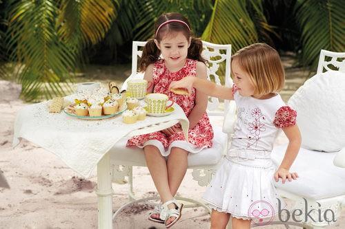 Dos conjuntos de ropa de niña de la nueva colección My Chicco de la casa italiana Verano 2012