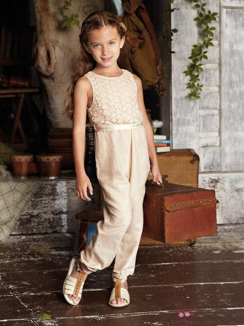 Vestido crochet de niña de la nueva colección My Chicco de la casa italiana Verano 2012