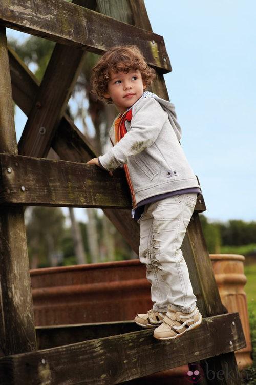 Conjunto de pantalon largo de niño de la nueva colección My Chicco de la casa italiana Verano 2012