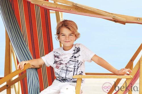Conjunto veraniego de niño de la nueva colección My Chicco de la casa italiana Verano 2012