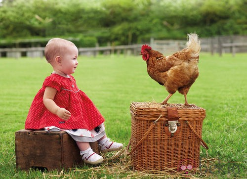 Vestido rojo de la colección de bebés My First Chicco Verano 2012