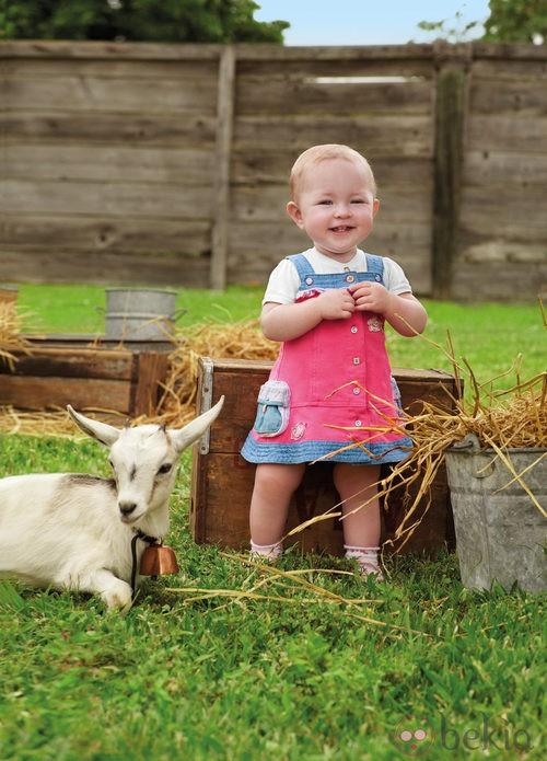 Vestido en colores divertidos de la colección de bebés My First Chicco Verano 2012