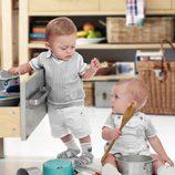 Dos looks de la colección de bebés My First Chicco Verano 2012