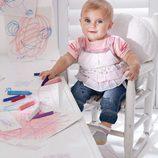 Conjunto para niña de la colección de bebés My First Chicco Verano 2012