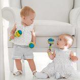 El mismo conjunto para niño y niña de la colección de bebés My First Chicco Verano 2012
