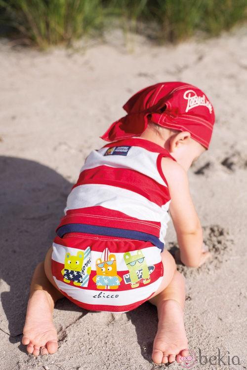 Conjunto playero de la colección de bebés My First Chicco Verano 2012