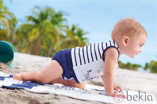 Ropa playera de la colección de bebés My First Chicco Verano 2012